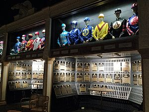 National Museum of Racing and Hall of Fame - The Hall of Fame gallery at the National Museum of Racing and Hall of Fame in Saratoga