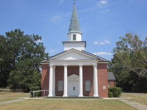 Hosston, Louisiana - Image: Hosston, LA, Methodist Church IMG 5175
