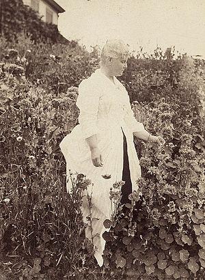 Celia Thaxter - Image: Houghton MS Am 1272.2 Celia Thaxter, 1899 edit