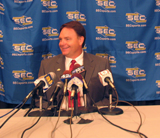 Houston Nutt - Nutt at the 2007 SEC Media Days