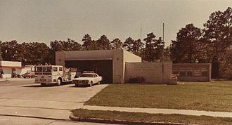 Oak Forest, Houston - Houston Fire Station 13, 1976