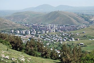 Hrazdan - General view of Hrazdan