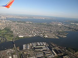 Greenville is located between the Newark Bay and Upper New York Bay