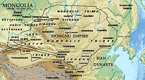 Nomadic empire - Xiongnu Empire