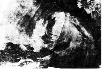 1968 Pacific hurricane season - Image: Hurricane Bonny (1968)