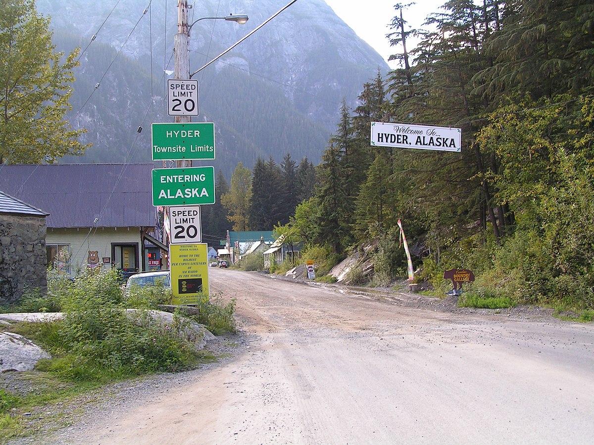 Hyder - Stewart Border Crossing - Wikipedia
