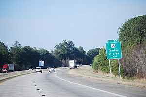 U.S. Route 15 - Signage for US 15 along Interstate 95 in South Carolina