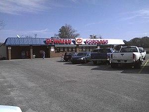 IGA (supermarkets) - Image: IGA in Bowman SC
