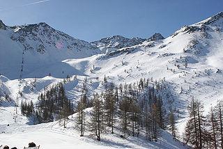 Serre Chevalier Ski resort in southeastern France