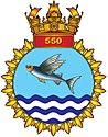 Insignia of INAS 550 (Flying Fish)