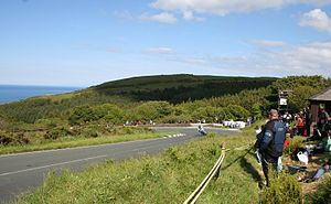Gooseneck, Isle of Man - Gooseneck from above, in 2011