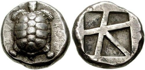 ISLANDS off ATTICA. Aegina. Circa 456-45-431 BC