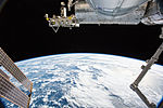 ISS-46 ISS with Kibo southern of Australia.jpg