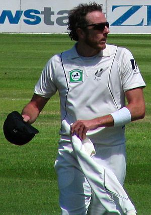 Iain O'Brien - Iain O'Brien at the University Oval, Dunedin, New Zealand