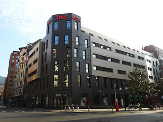 Ibis (hotel) - The Ibis hotel in Bilbao (Spain) city center