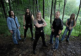 Iced Earth in 2008.