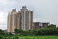Ideal Lake View and Al Anwar Construction - Apartment Complexes Under Construction - Kolkata 2010-06-25 6290.JPG