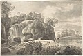 Ideal Landscape with a Shepherd and Cows MET DP804146.jpg