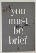 If You Must Telephone be Brief Art.IWMPST10028.jpg