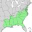 Ilex opaca range map 3.png