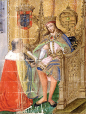Edward, King of Portugal - King Duarte in Crónica d'El-Rei D. Duarte;   Rui de Pina, c. 1497–1504.