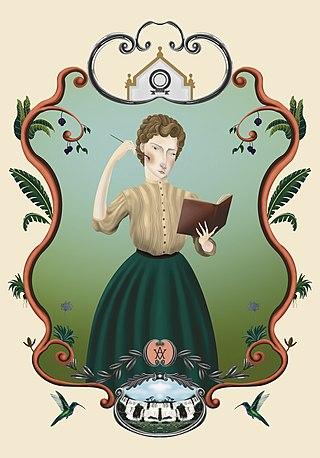 Ilustration of Victoria Aguirre Anchorena