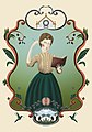 Ilustración de Victoria Aguirre Anchorena (mujer Argentina).jpg