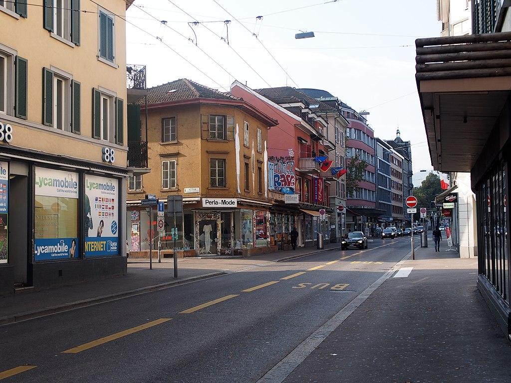 Impression - Statistisches Quartier Langstrasse