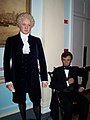 InSapphoWeTrust - George Washington and Abraham Lincoln at Madame Tussauds London (8481390754).jpg