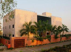 Christopher Charles Benninger - India House, studio and residence of Prof.Benninger, in Pune, Maharashtra.