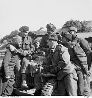 Indian, British, New Zealand and Australian soldiers in Korea 1951.jpg