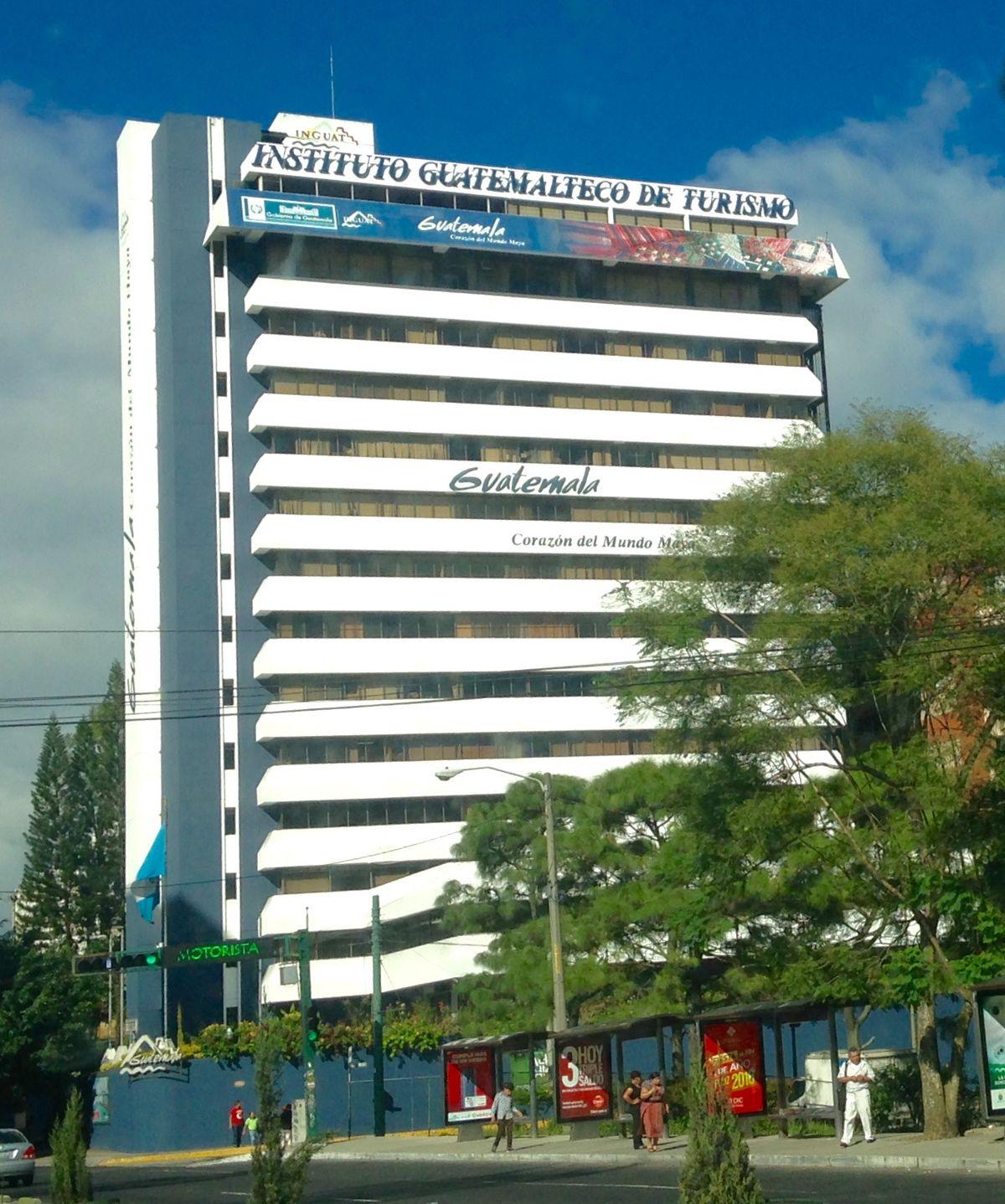 Instituto guatemalteco de turismo wikipedia la for Funciones de una oficina wikipedia