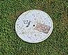 Inner field marker, Bishop's Stortford Cicket Club, Hertfordshire.jpg