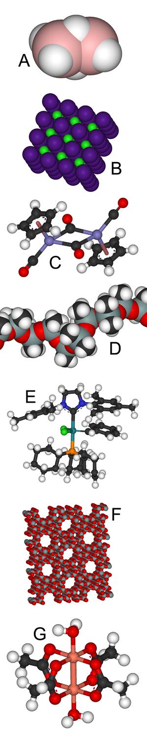 Inorganic chemistry - Image: Inorganic montage