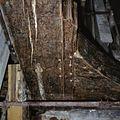 Interieur, Mariakapel, beschilderde trekbalk tijdens de restauratie - Amsterdam - 20370974 - RCE.jpg