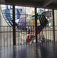Interieur, detail glas-in-loodraam - Doorn - 20366387 - RCE.jpg