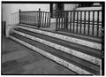 Interior, chancel steps and railing - Templo de Porta Coeli, San German, San German Municipio, PR HABS PR,5-SANG,1-24.tif