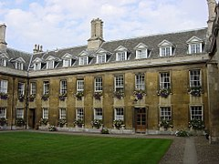 Interior East Side of Gonville Court, Gonville & Caius (full).jpg