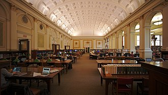 Carnegie Library of Pittsburgh - Interior view of the main branch in the Oakland neighborhood