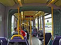 Interior of LUAS Red Line tram at Red Cow-An Bhó Dhearg tram stop, Clondalkin - geograph.org.uk - 2108383.jpg