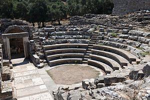 Iasos - Interior of bouleuterion
