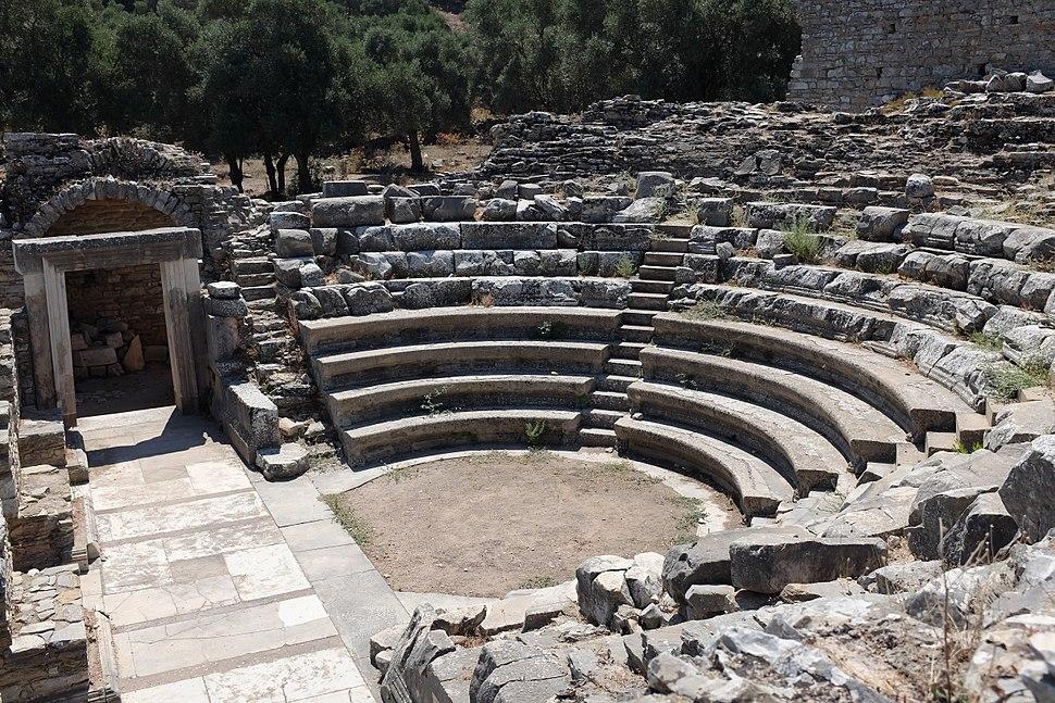 Interior of bouleuterion in Iasos AvL