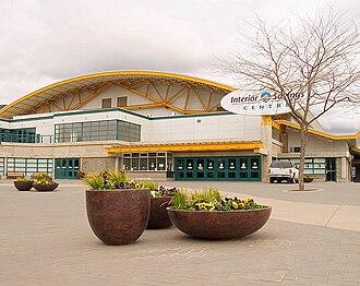 2006 World Junior Ice Hockey Championships - Image: Interior savings centre