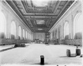 Interior work - construction of the Main Reading Room, showing the completed ceiling (NYPL b11524053-ps ar cd1 10).tiff