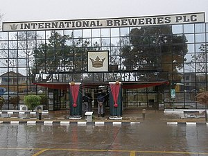 International Breweries plc - International Breweries office building in Ilesa, January 2014