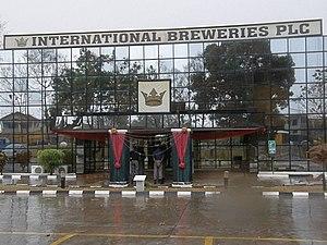 International Breweries plc - International Breweries office building in Ilesa, January 2014