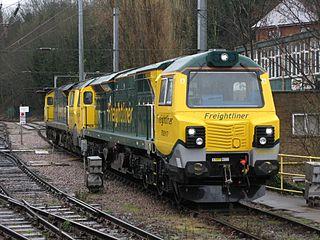 GE PowerHaul Locomotive