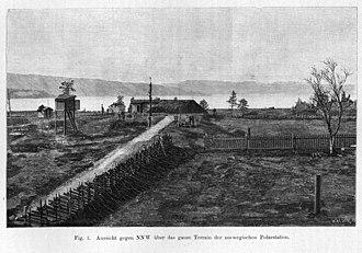 Bossekop - View of the village (1887-1888)