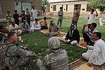 Iraqi soldiers patrol neighborhood east of Baghdad, Iraq DVIDS179796.jpg