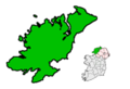 Ireland map County Donegal.png
